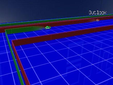 Armagetron Advanced juego de motos de luz para Linux  Estrllate