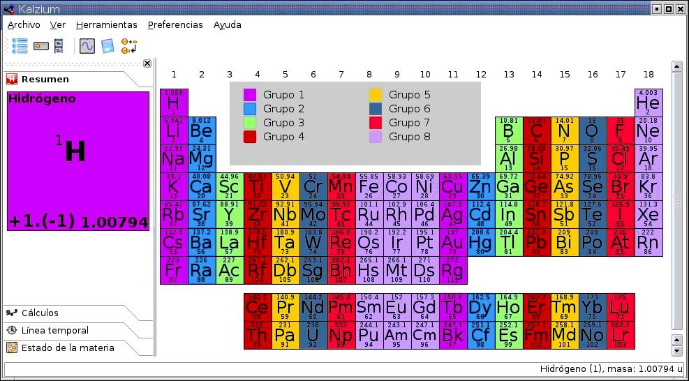 Qumica en linux estrllate y arde tabla peridica en linux urtaz Gallery