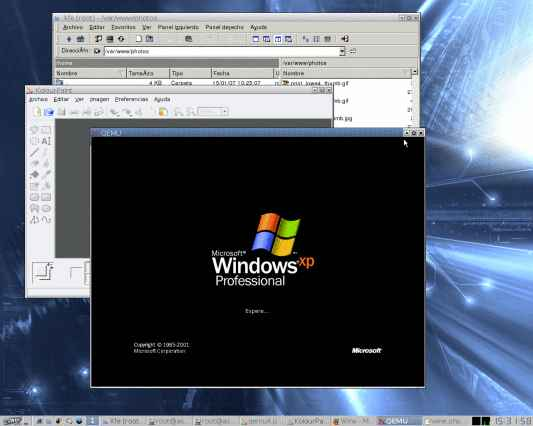 Arranca Windows en Qemu