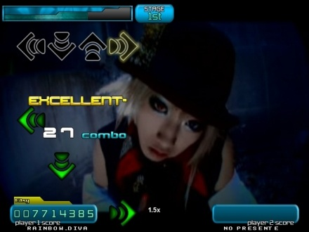 StepMania screen